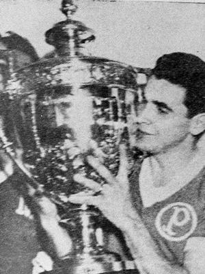 Canhotinho Palmeiras Troféu Campeão Copa Rio 1951 23/07/1951