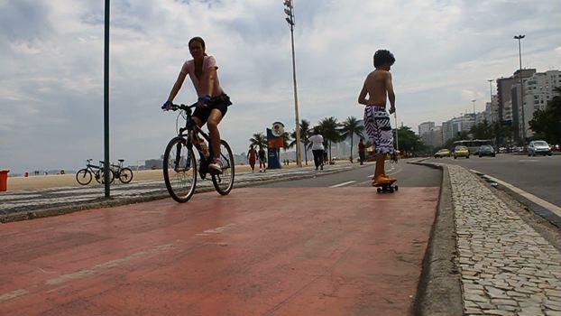 Copacabana, o bairro das bicicletas