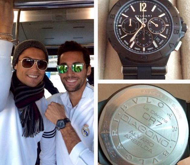 e2f72e5e2fe Cristiano Ronaldo dá relógios de R  27 mil para todos os ...