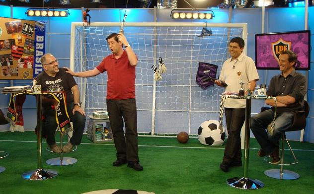 Loucos por Futebol com a presença do humorista Antonio Tabet