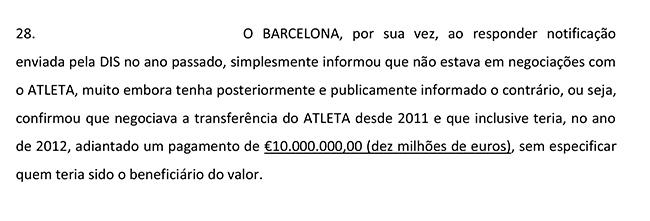 Neymar Contrato Página 15 Parágrafo 28