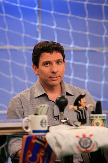 Gilvan Ribeiro no programa Loucos por Futebol