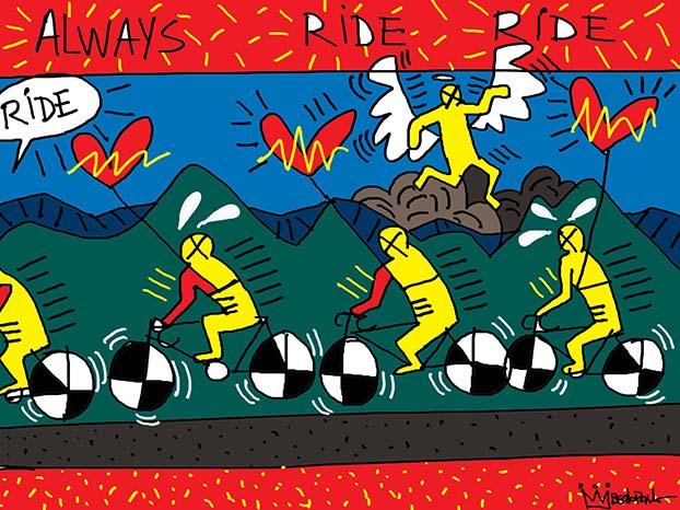 Always Ride, por Reynaldo Berto
