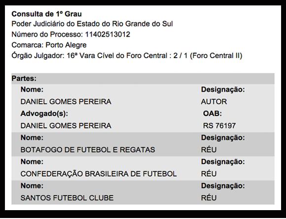 Processo na Justiça do Rio Grande do Sul tentava recolocar Grêmio na Copa do Brasil
