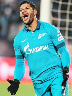 Hulk Zenit Mordovia Saransk Campeonato Russo 26/10/2014
