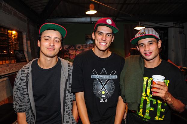 Diego Ramos, Pedrinho e Diego Chavero