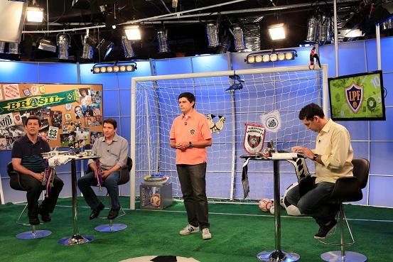 Loucos por Futebol com a presença do jornalista Gilvan Ribeiro