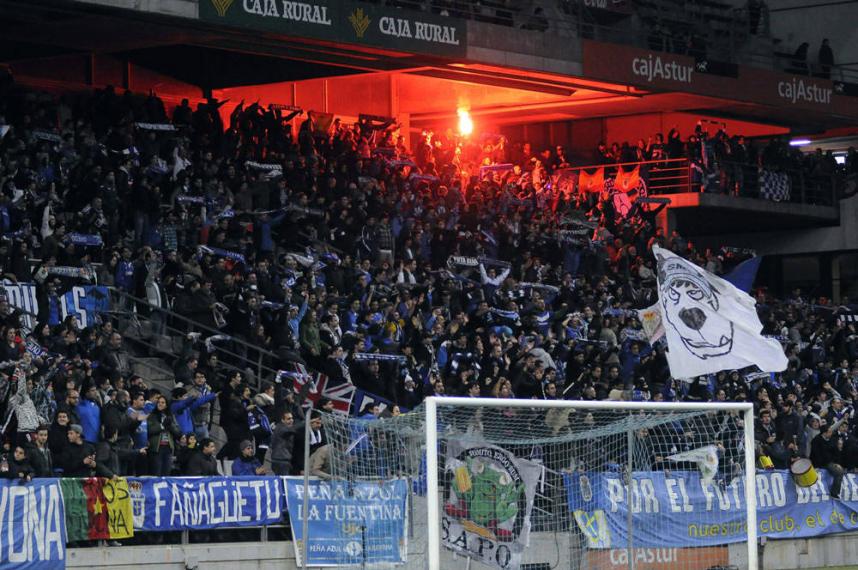 Torcida do Oviedo salvou o clube da extinção