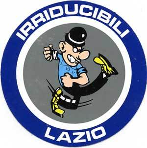 O símbolo fdos Irriducibilli: fama na Curva Nord e lojas pela capital italiana