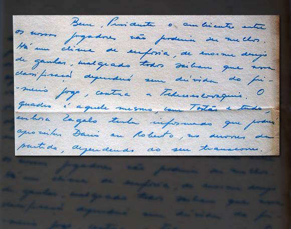 Matéria Pelé - Carta Paulo Planet 1