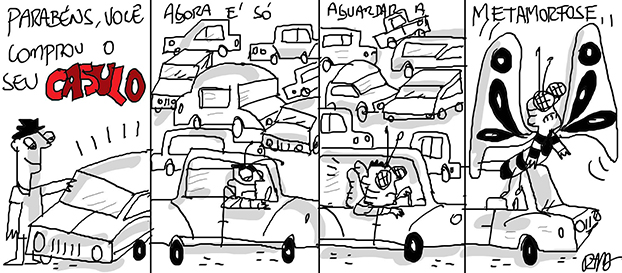 Saia do casulo, por Reynaldo Berto