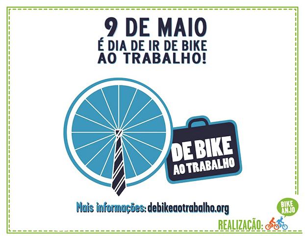 De Bike ao Trabalho, dia 9 de maio
