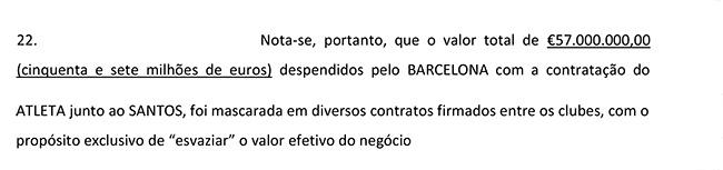 Neymar Contrato Página 11 Parágrafo 22