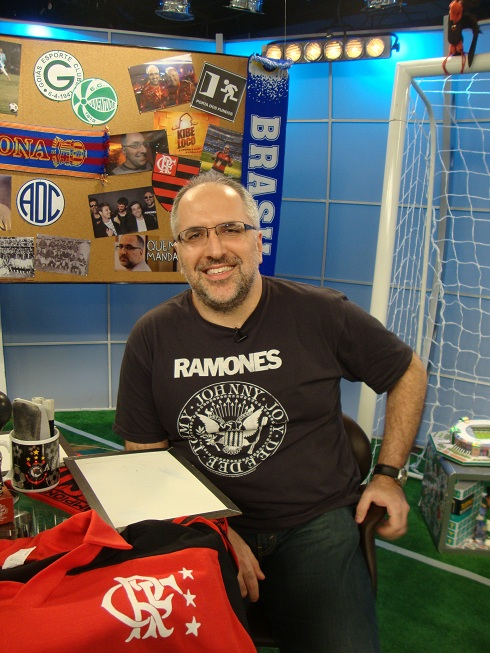 Antonio Tabet no programa Loucos por Futebol