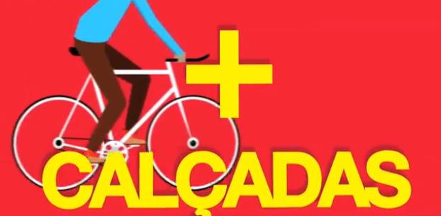 Comunicação visual do plano mostra foco em pedestres e ciclistas