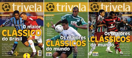 A revista teve três capas publicadas, de acordo com a região distribuída