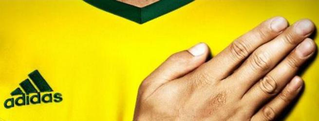 Camisa do Palmeiras para 2014 leva as cores da seleção brasileira