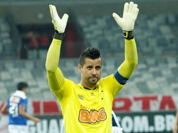 Fábio, goleiro do Cruzeiro