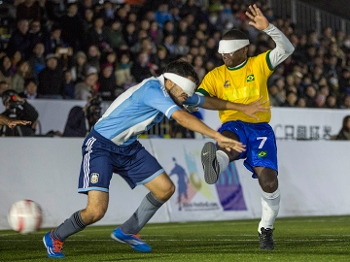 Brasil venceu a Argentina na decisão