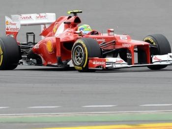 Felipe Massa durante o GP da Coreia do Sul de Fórmula 1