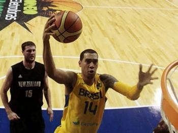 Em mistoso seleção brasileira de basquete contra a Nova Zelândia, Marquinhos foi o cestinha
