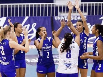 Blausiegel/São Caetano chegou a ser uma das potências na Superliga de vôlei