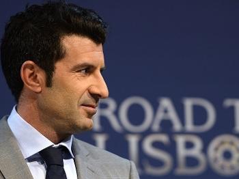 Champions League Sorteio Quartas de Final Luis Figo Embaixador da decisão 21/03/14