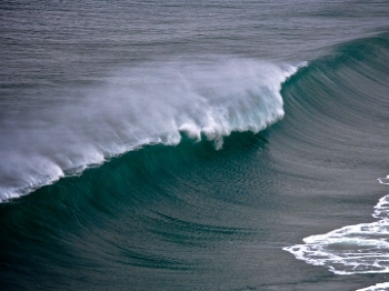 A onda do 'Canhão de Nazaré'