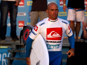Kelly Slater, concentrado para a final