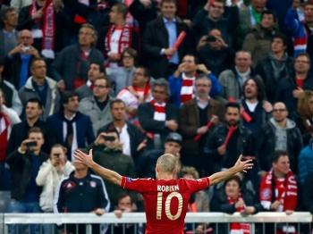 Bayern deu show diante de sua torcida