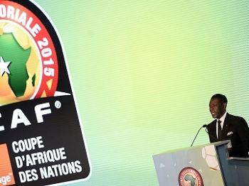 Copa Africana Sorteio Teodoro Obiang Nguema Presidente Guiné Equatorial 03/12/14