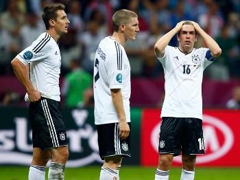 Alemães lamentam a eliminação na Eurocopa