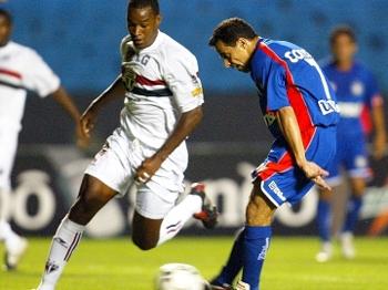 Euller Chuta São Caetano São Paulo Morte Serginho Campeonato Brasileiro 03/11/2004