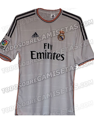 Suposta camisa do Real Madrid para a temporada 2013-14