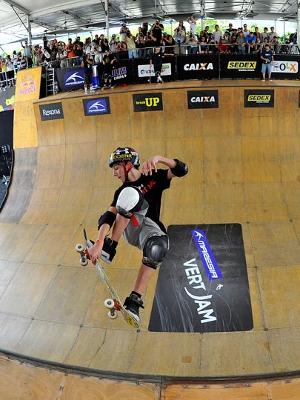 Após vencer semifinal sábado (2) Mitchie Brusco, 15 anos, terminou na terceira posição