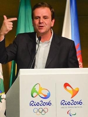 Eduardo Paes. prefeito do Rio de Janeiro