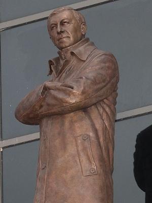 United inaugurou estátua de mais de dois metros de Alex Ferguson
