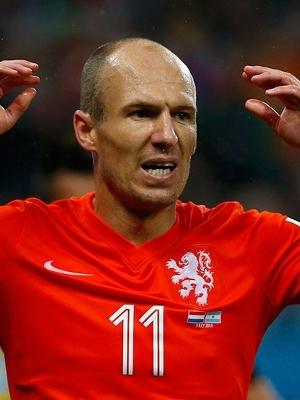 Riobben lamenta; Holanda acabou eliminada