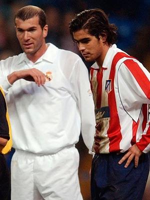 Em 2002, Atlético não fazia frente ao Real de Zidane