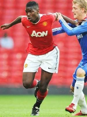 Paul Pogba Manchester United Chelsea FA Cup Youth 20/04/2011