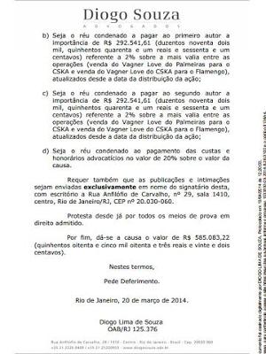 Palmeiras espera citação judicial