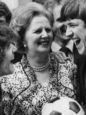 O futebol inglês na 'mão de ferro' de Margaret Thatcher