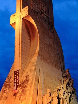 Monumento do Descobrimento, no local de onde a esquadra de Pedro Álvares Cabral partiu para o Brasil