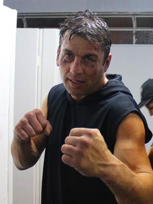 Osmar Teixeira, o Animal, que venceu Anderson em 2011