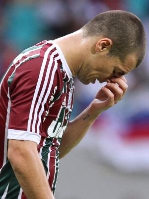 Wagner, do Fluminense, lamenta rebaixamento do clube no Campeonato Brasileiro