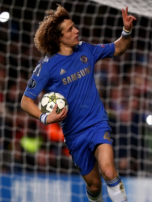David Luiz fez o primeiro gol do Chelsea contra o Nordsjelland 7744369602326