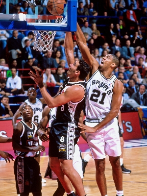 Vasco perdeu para os Spurs em 1999