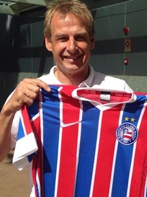 Jurgen Klinsmann Camisa Bahia 01/07/2014