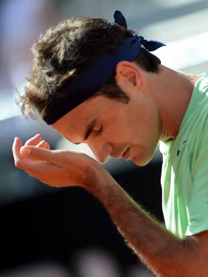 Federer cometeu 32 erros não forçados na final