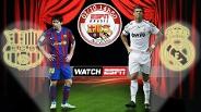 ESPN abre plataforma WatchESPN para os fãs do esporte verem Barça x Real